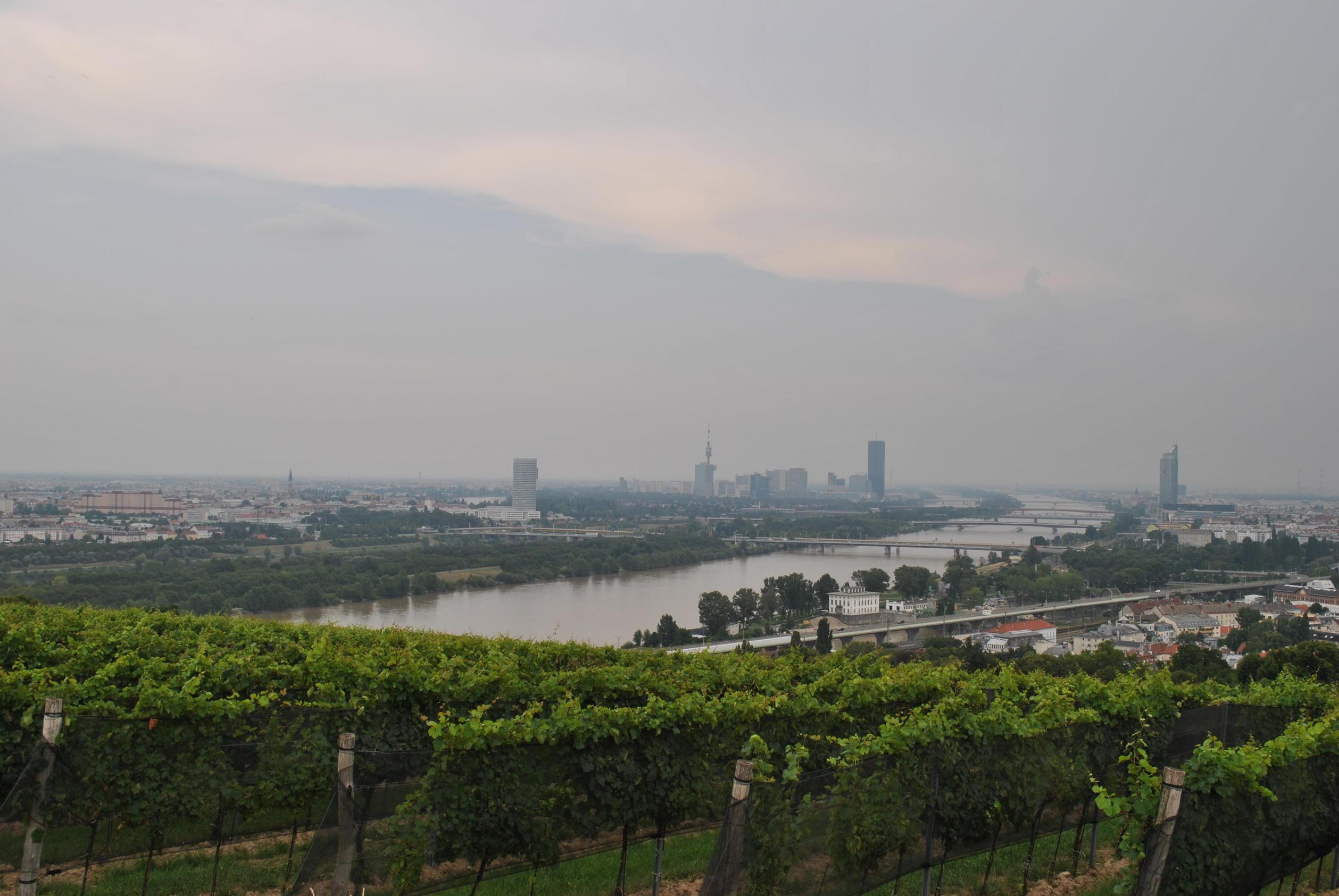 Vista da Kahlenberg