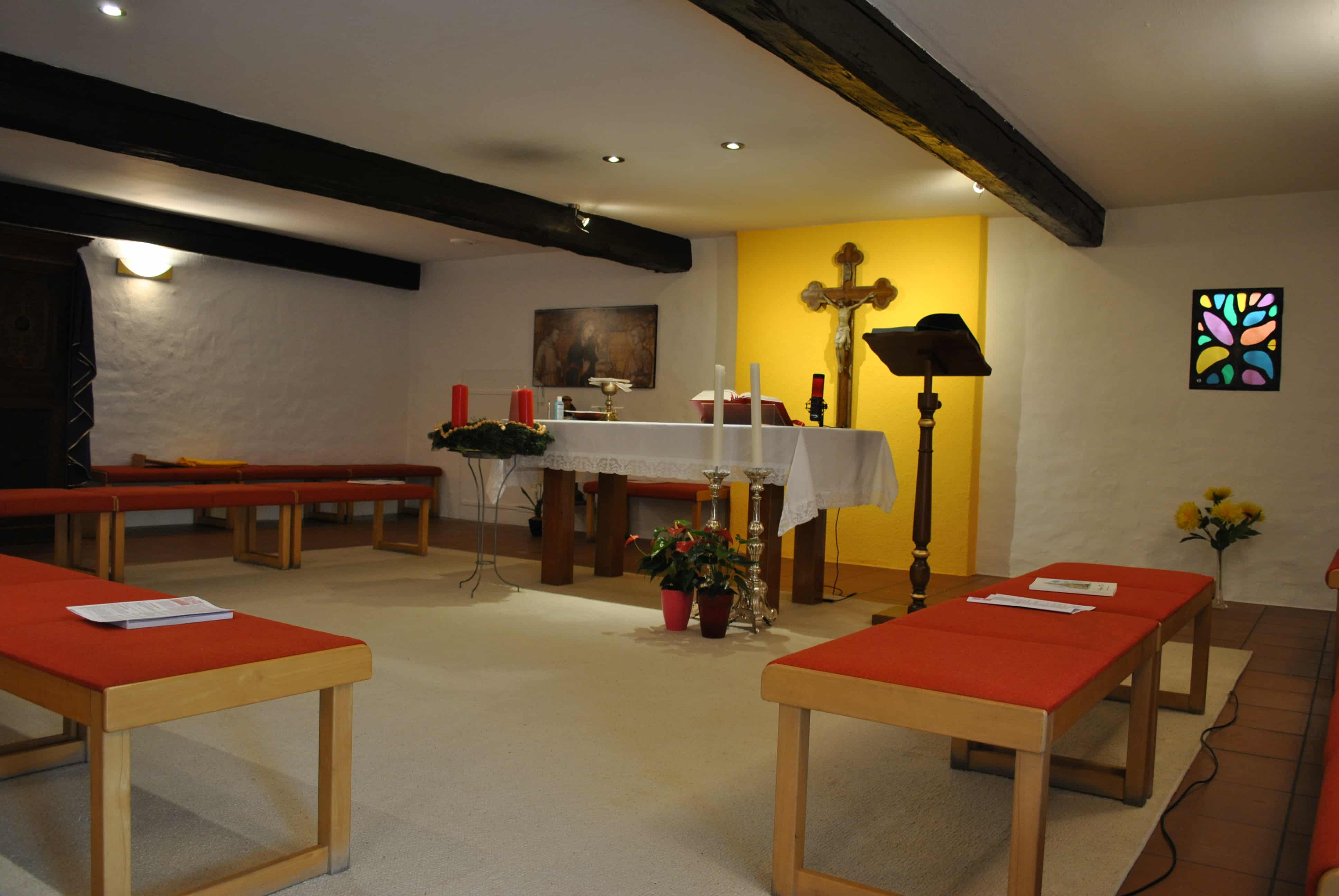 Foto della cappella del convento di Alser Strasse