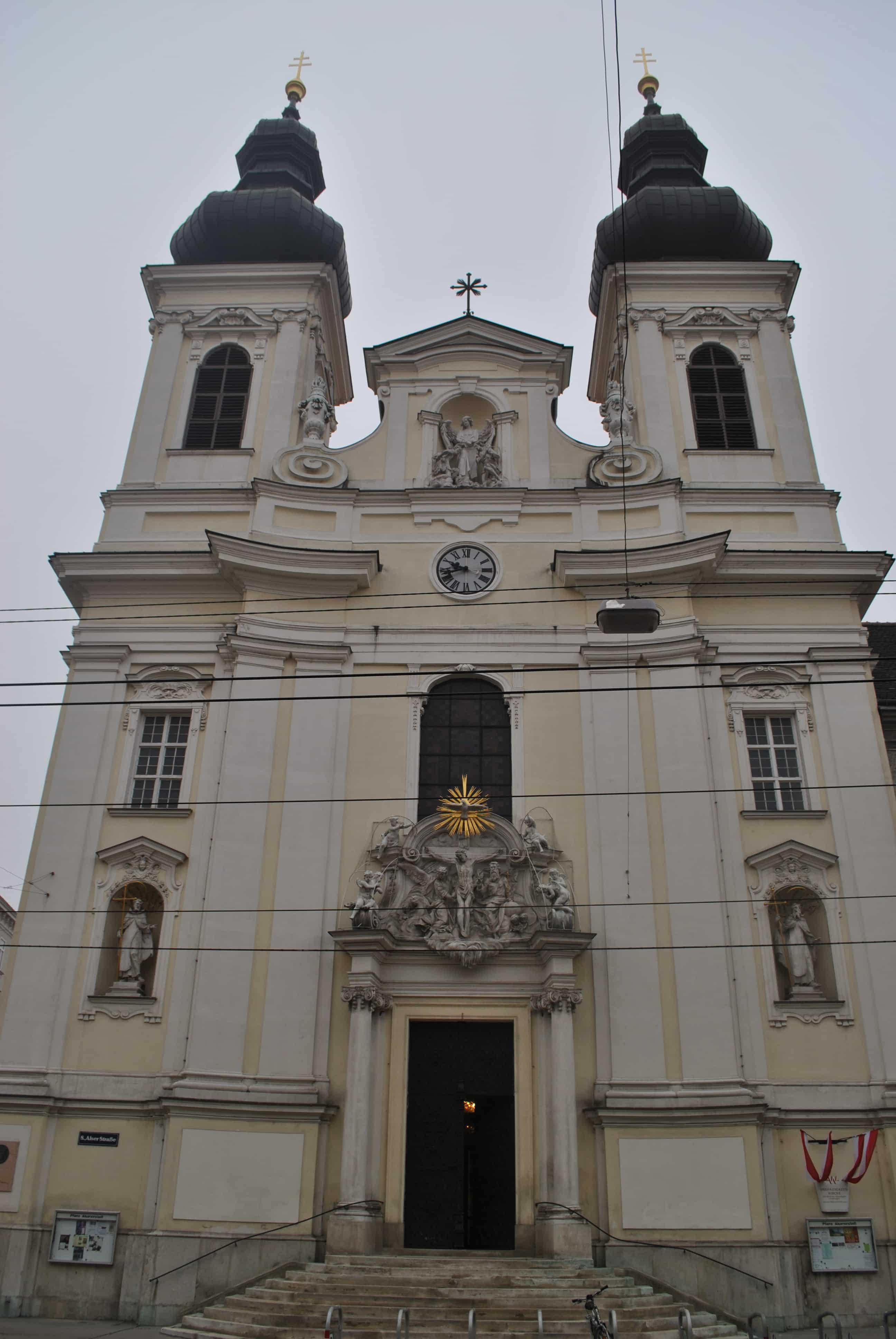 la chiesa di Alser Vorstadt